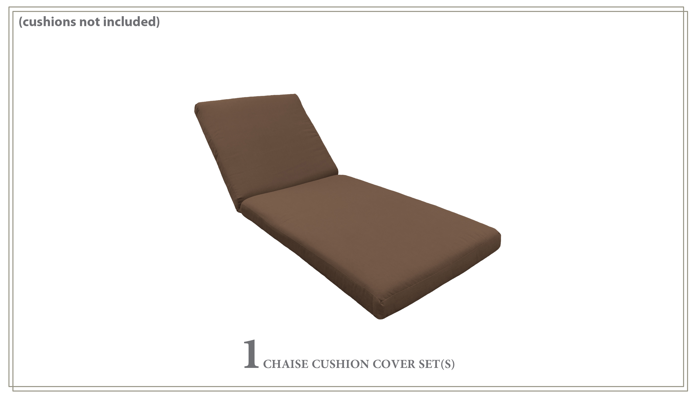 Covers for Chaise Cushions - Design Furnishings
