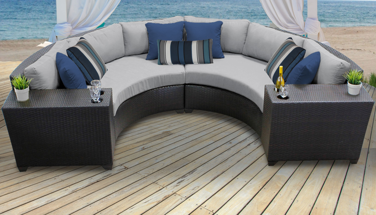 Perfect 4 Piece Outdoor Patio Furniture Set By TKC Bermuda