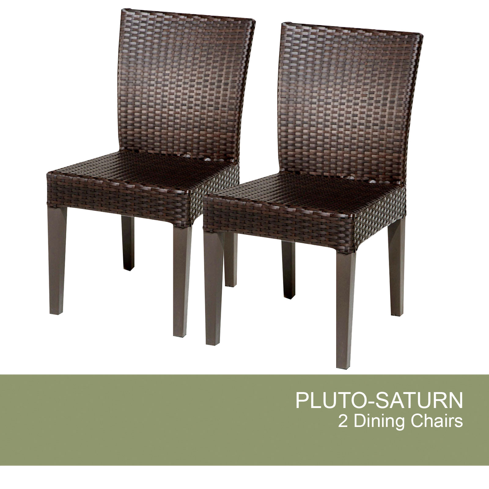 2 Pluto/Saturn Armless Dining Chairs - Design Furnishings