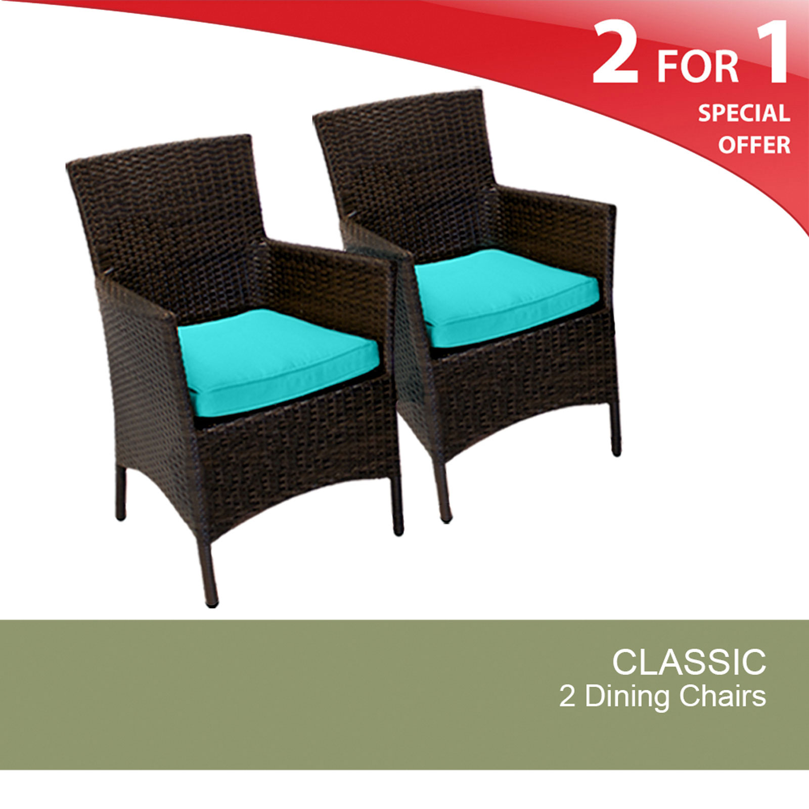 2 Classic Dining Chairs With Arms