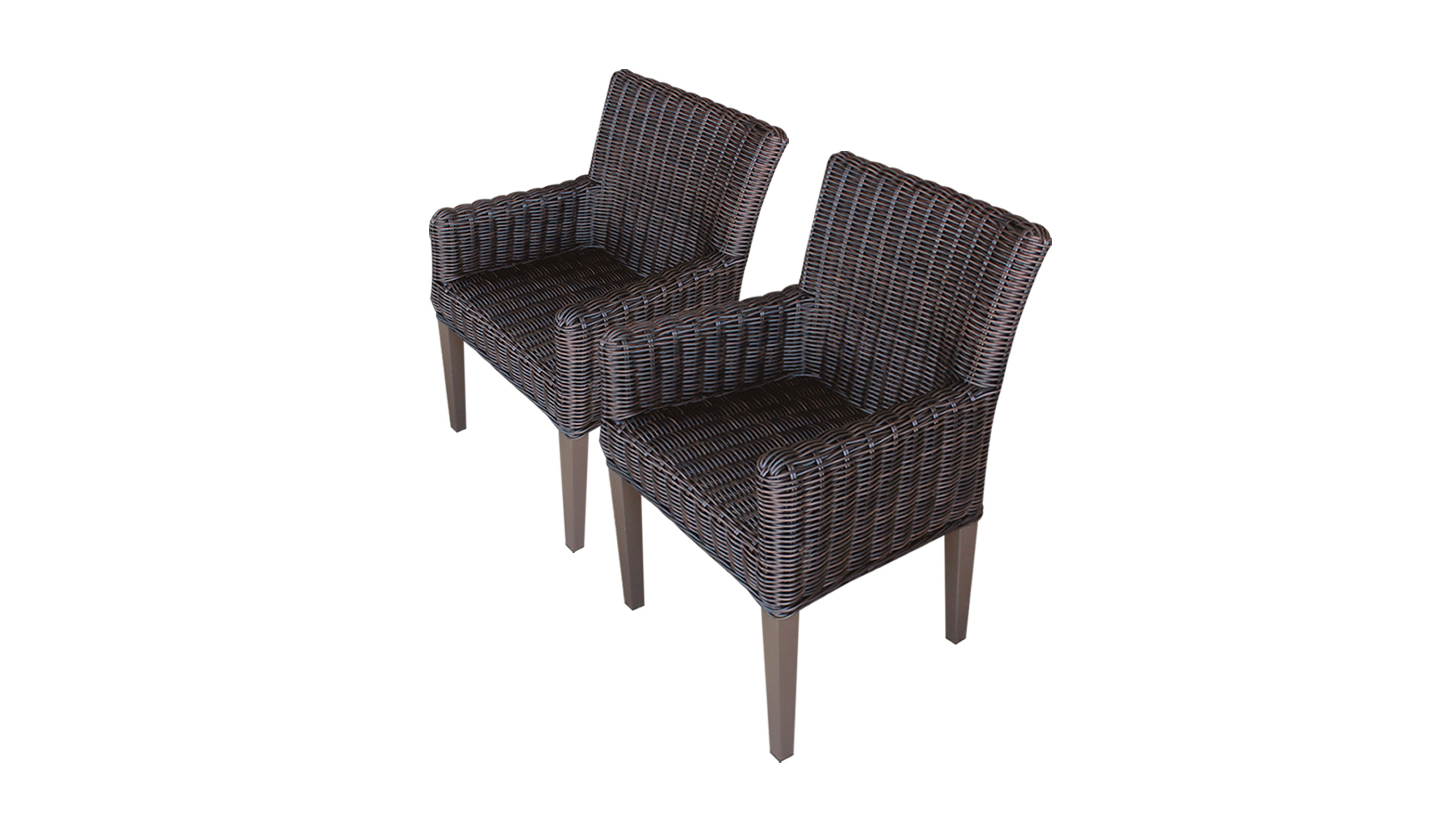 2 Rustico Dining Chairs With Arms