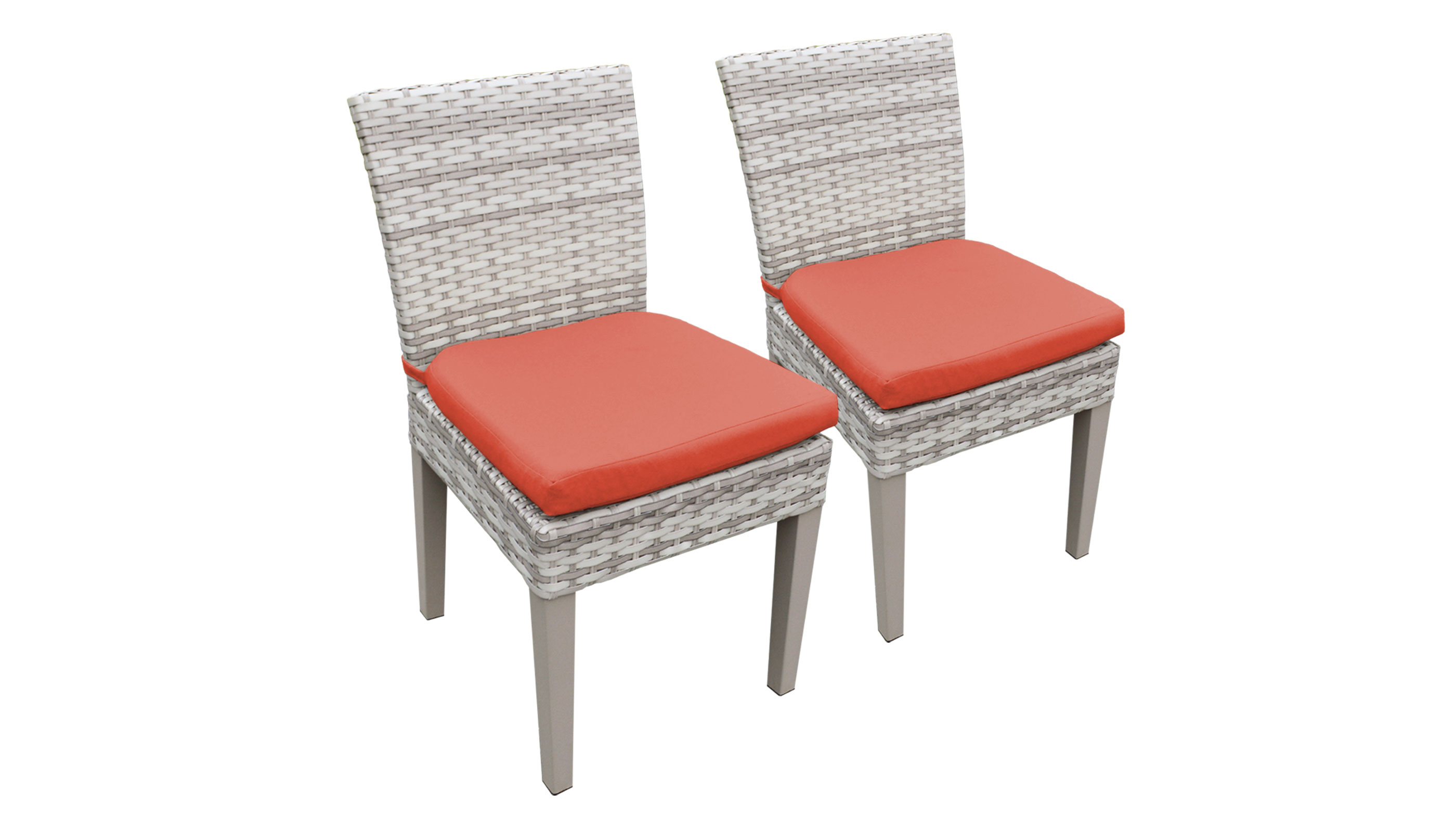 2 New Haven Armless Dining Chairs - Design Furnishings